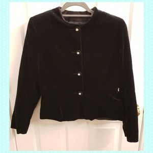 Vintage Marion Donaldson Velvet Jacket